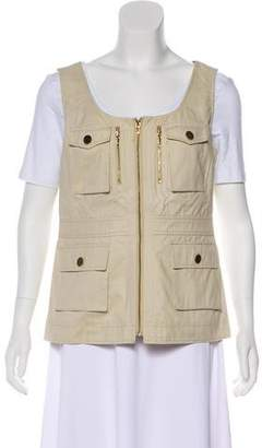 Tory Burch Zip-Up Utility Vest