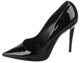 Tamara Mellon Patent Leather Pointed-Toe Pumps