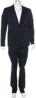 Sauvage A. Twill Peak-Lapel Suit