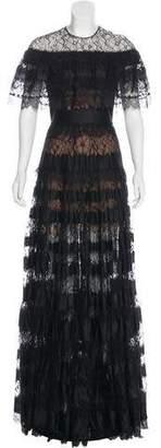 Elie Saab Lace Gown Dress