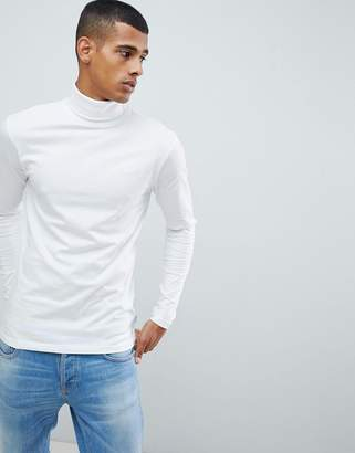 ONLY & SONS Roll Neck Long Sleeve Top