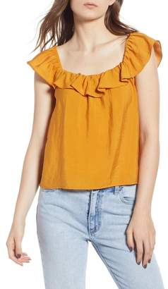 BP Ruffle Trim Top