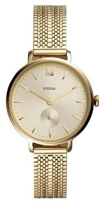 Fossil Kalya Three-Hand Gold-Tone Stainless Steel Watch jewelry