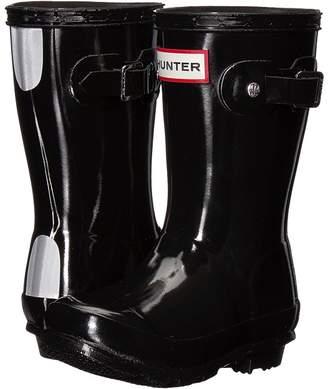 Hunter Original Gloss Rain Boots Kids Shoes