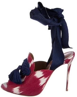 Aquazzura Legend Tassel Sandals w/ Tags