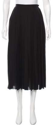 BLK DNM Silk Midi Skirt