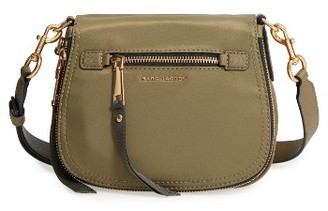 Marc Jacobs Trooper - Small Nomad Nylon Crossbody Bag - Green $250 thestylecure.com