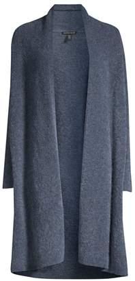 Eileen Fisher Mohair Wool-Blend Duster