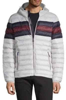 Tommy Hilfiger Plaid Puffer Jacket