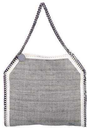 Stella McCartney Woven Vegan Leather Falabella Tote