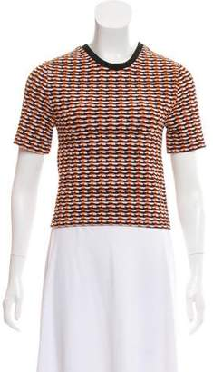 Opening Ceremony Patterned Short Sleeve Top