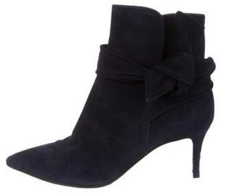 Gianvito Rossi Suede Ankle Boots blue Suede Ankle Boots