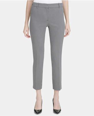 Calvin Klein Petite Printed Ankle Pants