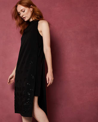 Ted Baker QUITETA Double layer embellished dress
