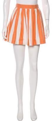 MAISON KITSUNÉ Pleated Mini Skirt