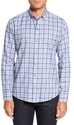 Zachary Prell Lobban Slim Fit Check Sport Shirt