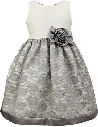 Jayne Copeland Glitter Lace Special Occasion Dress, Toddler & Little Girls (2T-6X) $74 thestylecure.com