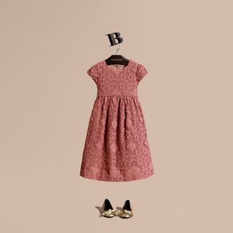 Burberry English Floral Lace Dress $750 thestylecure.com