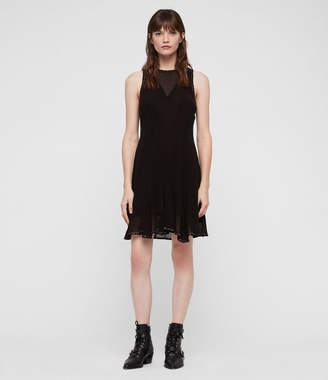 AllSaints Eleanor Stud Dress