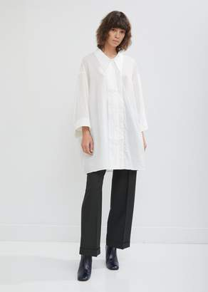 Lemaire Silk Maxi Shirt
