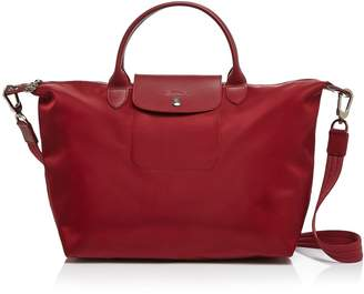 Longchamp Le Pliage Neo Medium Tote With Strap
