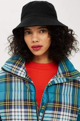 Topshop Cotton Bucket Hat