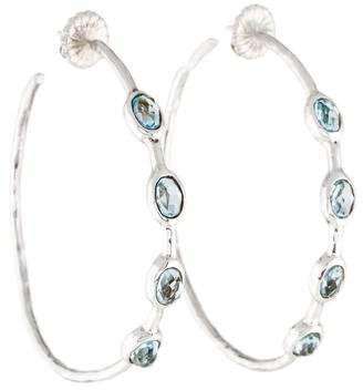 Ippolita Topaz Hoop Earrings