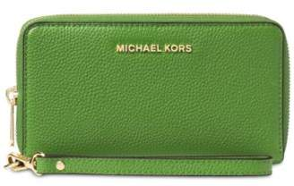 Michael Kors MICHAEL Mercer Large Flat Multi Function Phone Case