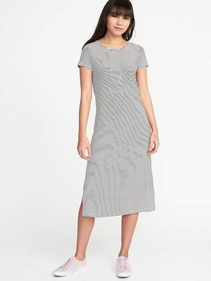Old Navy Jersey-Knit Midi Tee Dress for Women