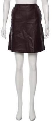 Max Mara Weekend Leather Mini Skirt w/ Tags