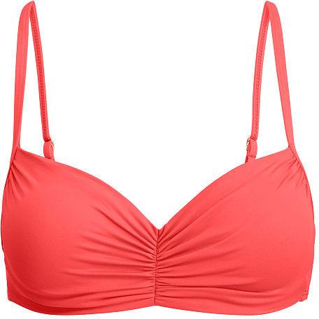 Ralph Lauren Lauren Ruched Bikini Top