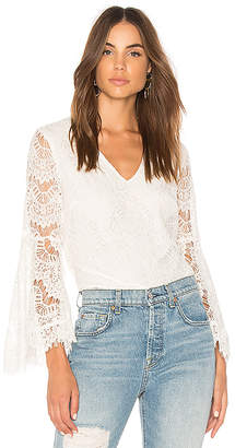 MinkPink Tainted Love Lace Blouse