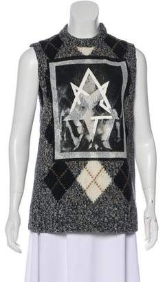 Givenchy Sleeveless Wool Top