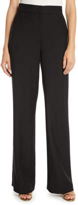 Osman High-Waist Straight-Leg Heavy Wool Pants