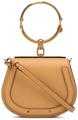 Chloé Brown Nile leather bracelet bag