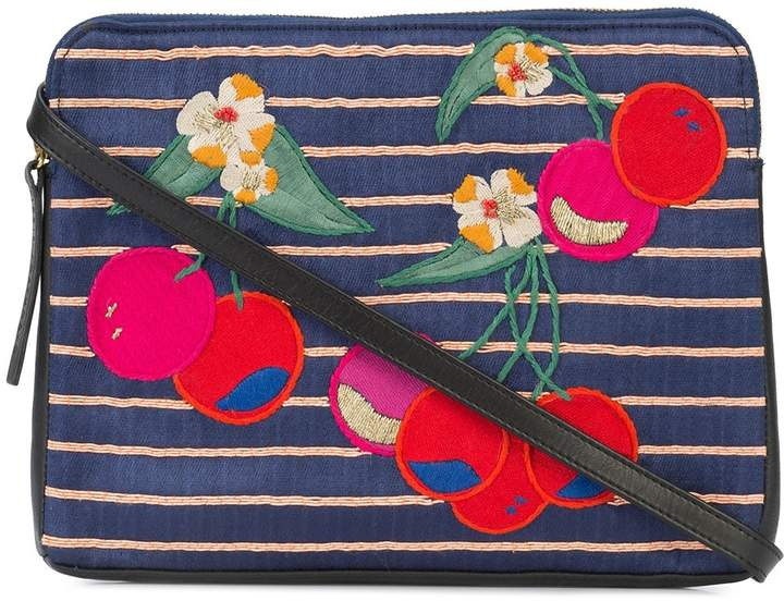 Lizzie Fortunato Cherry Patch Clutch Bag