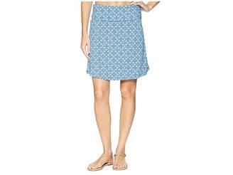 White Sierra Tangier Odor Free Printed Skirt
