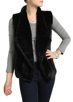 Kelly & Katie Faux Fur Vest