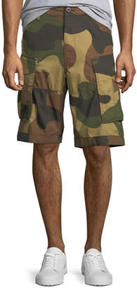 G Star G-Star Men's Aged Camo Cargo Shorts