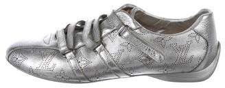 Louis Vuitton Monogram Metallic Sneakers