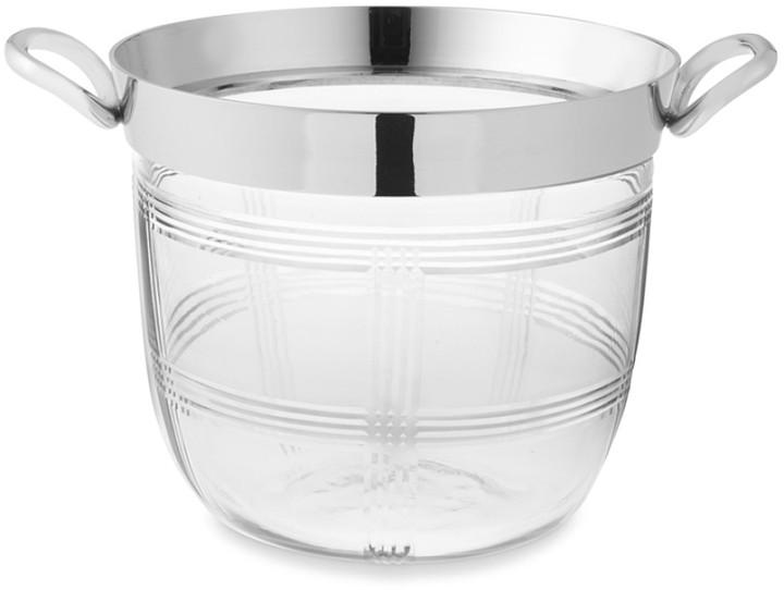 Williams-Sonoma Plaid Bleeker Ice Bucket