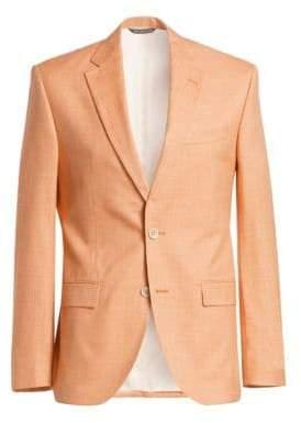 Saks Fifth Avenue COLLECTION Slub Weave Sportcoat