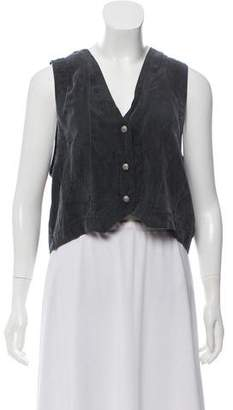OAK Silk Button-Up Vest