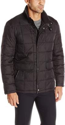 Cole Haan Men's Box Quilt Down Jacket