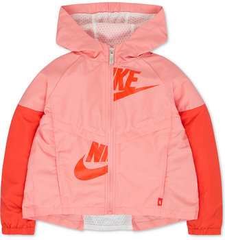 Nike Windrunner Jacket, Toddler & Little Girls (2T-6X) $65 thestylecure.com