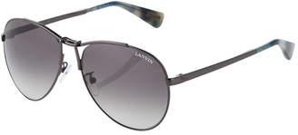 Lanvin Metal Aviator Sunglasses