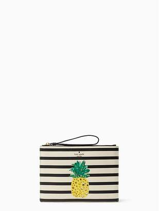 Kate Spade By The Pool Pineapple Medium Bella Pouch