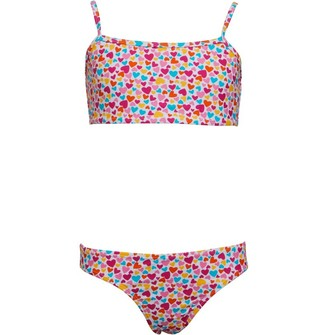 Board Angels Girls Printed Bikini Multi