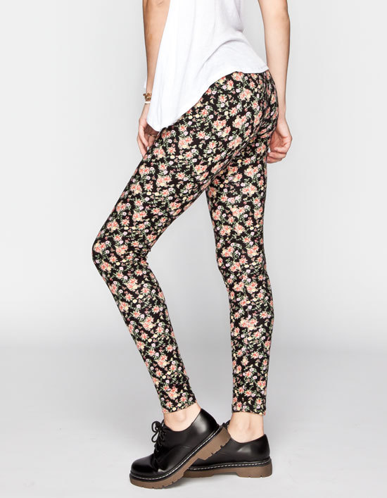 Full Tilt Ditsy Floral Womens Leggings