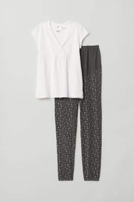 H&M MAMA Pajamas - White